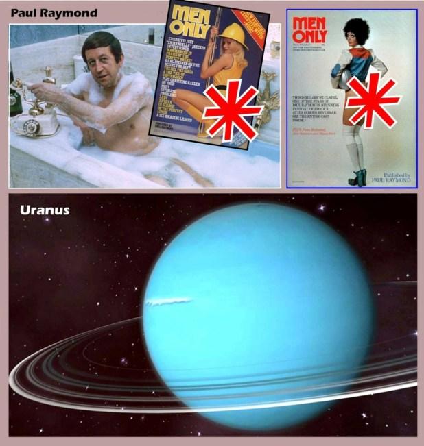 Eagle Daze 9: Paul Raymond's Men Only & Uranus