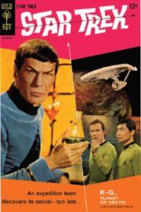 Star Trek - Gold Key Cover