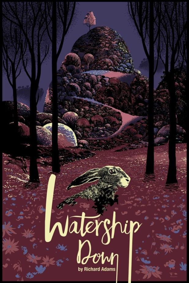 The variant Watership Down poster by Radi71 aka Chris Thornley