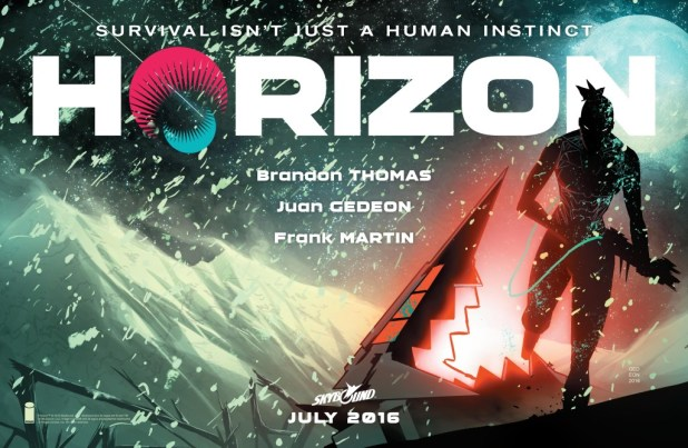 HORIZON by Brandon Thomas, Juan Gedeon & Frank Martin (Skybound)