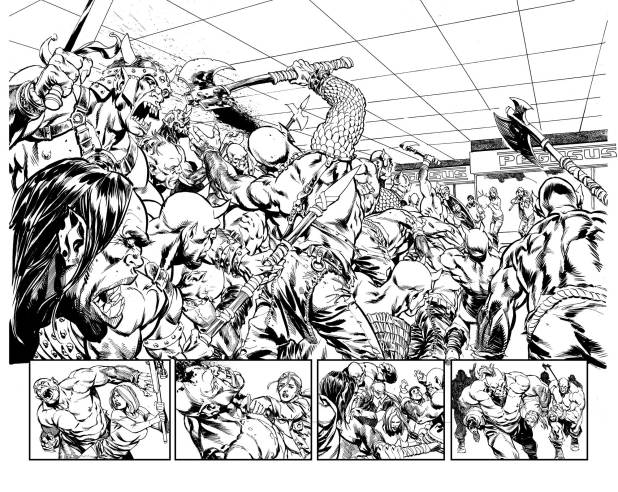 King's Road # Splash Pages by Staz Johnson