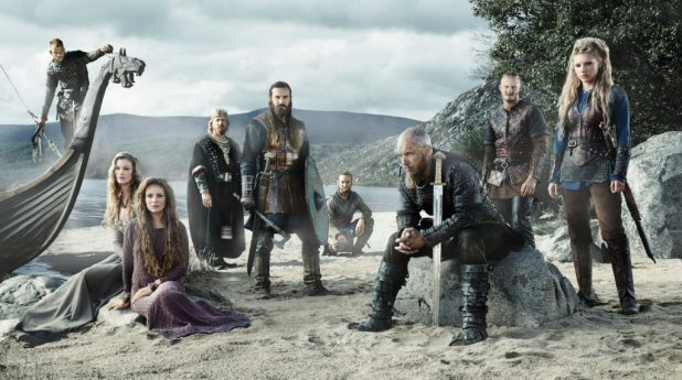 The cats of Vikings from Season 3, the setting for the new comic. Image: MGM/History Channel