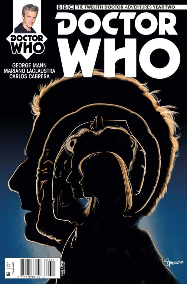 Doctor Who: The Twelfth Doctor Year Two #6 - Cover E by Simon Myers