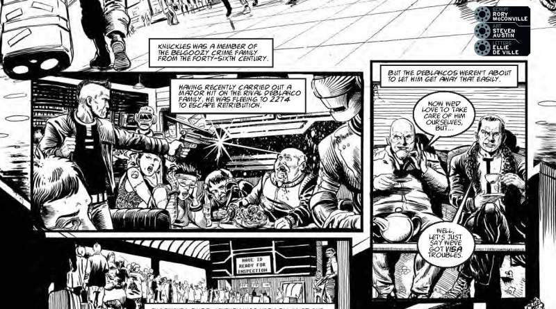 "2000AD Prog 1982: ""The Timeless Assassin"" Page 1"