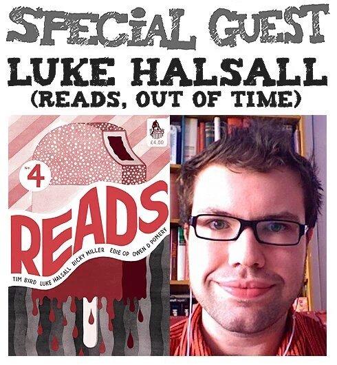 Awesome Comics Podcast Episode 44 - Luke Halsall