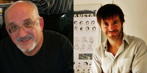 Jordi Bernet and Paco Roca