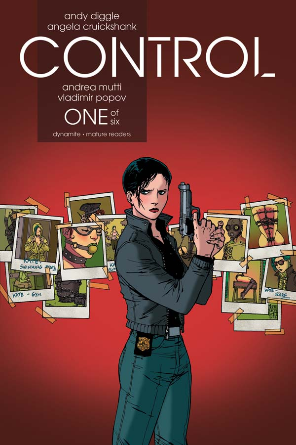 Control #1 Cover B by Guiseppe Camuncoli