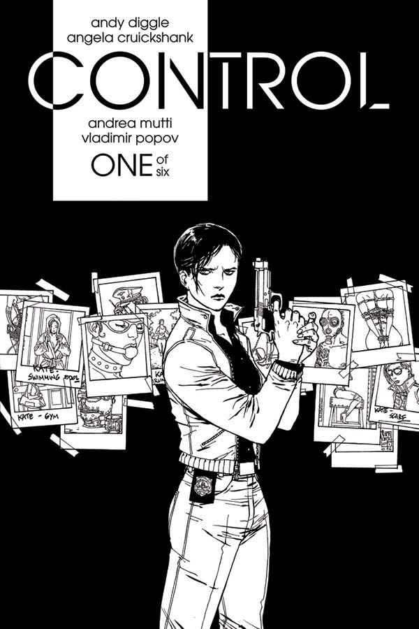 Control #1 Cover C by Guiseppe Camuncoli