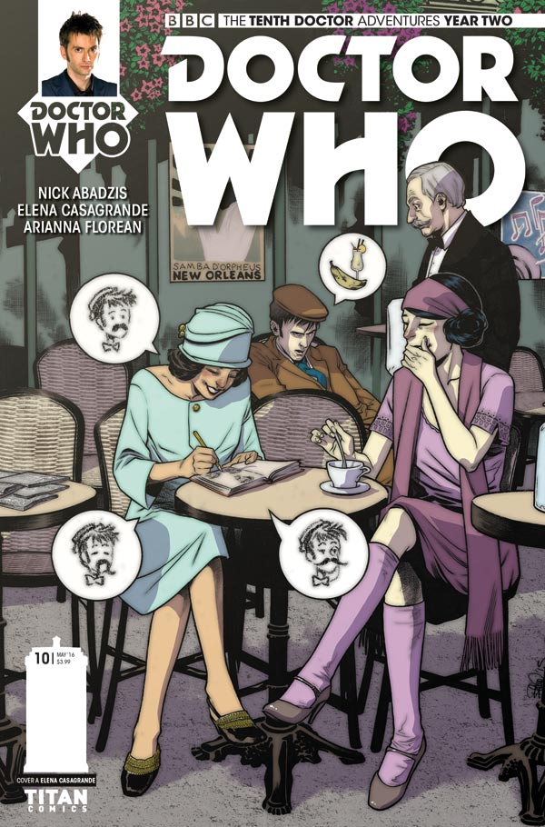 Doctor Who: The Tenth Doctor Year 2 #10 - Cover A