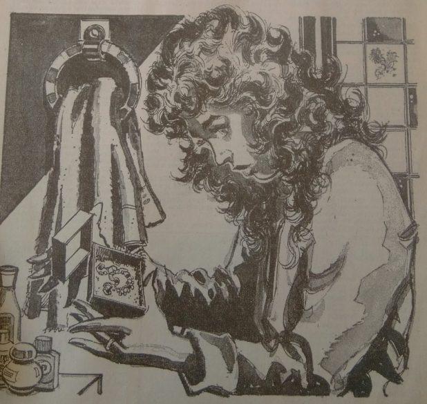 Jennifer and the Brooch. Art by Gordon Livingstone