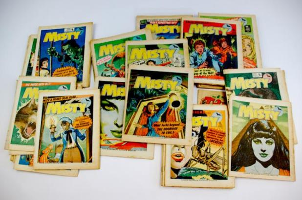 Misty comics. Photo: Langley & Jones Specialist Auctions