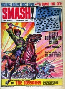 Gil was the editor of the revamped Smash!. Image courtesy Lew Stringer