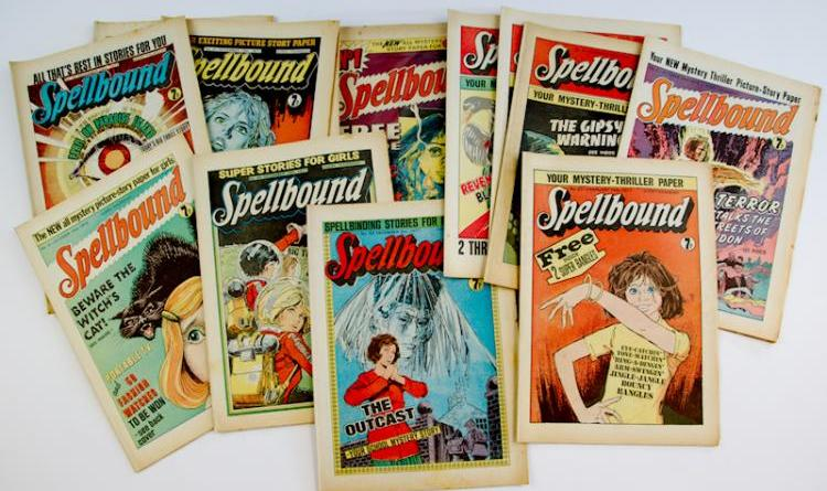 Spellbound comics. Photo: Langley & Jones Specialist Auctions