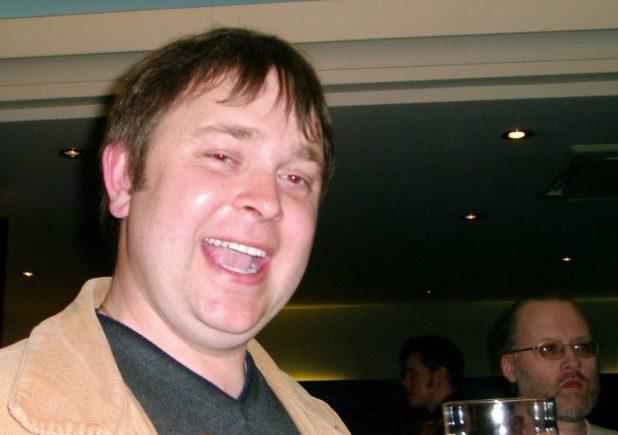 Stewart Perkins, Bristol 2004. Photo courtesy PJ Holden