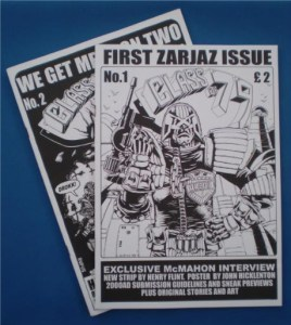 Class of 79 was the forerunner of several 2000AD-inspired 'zines. Photo via Cellar of Dredd