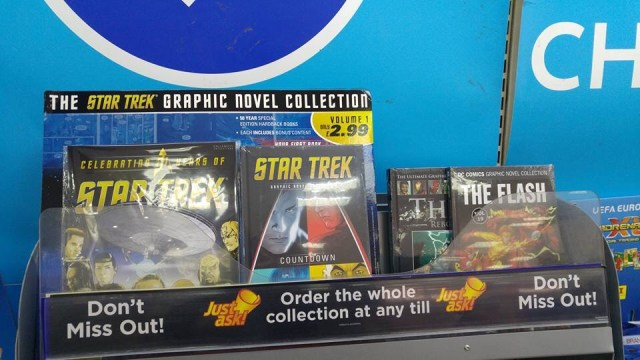The Star Trek Graphic Novel collection test, spotted in WHSmith Reading by Jon Carpenter
