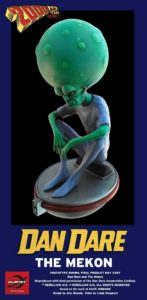 Planet Replicas Ltd 2000AD Mekon