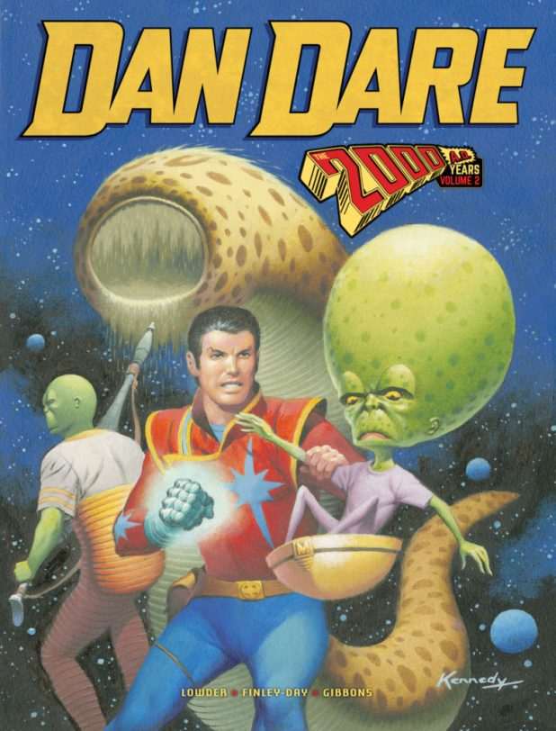 2000AD Dan Dare Volume Two