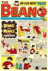 Actor Mark Hamill's favourite Beano – Number 1929 from July 1979, picked up during the filming of Empire Strikes Back. But will he be part of the Beano Studios project?