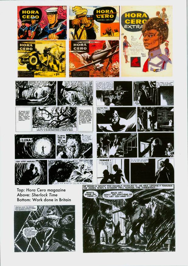 Alberto Breccia Part 1 - Early Work Samples
