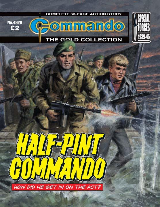 Commando No 4920 – Half-Pint Commando