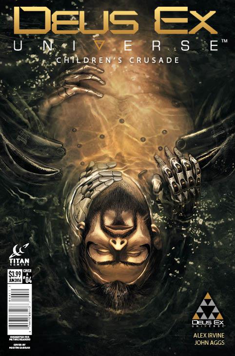 Deus Ex #4 - Cover A