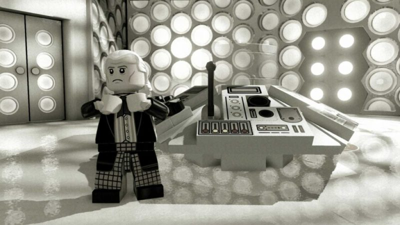 Doctor Who - LEGO Dimensions - The First Doctor