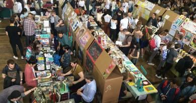 East London Comics Art Festival 2016 - Floor 1