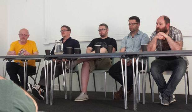 Talking superhero, adventures comics and more: John Freeman, Andy Diggle, Tom Ward, Sean Phillips and Alex Paknadel