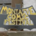 Moniaive Comic Festival Sign