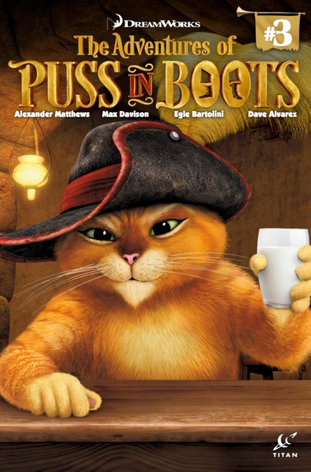 Puss in Boots #3 Cover A