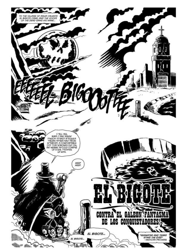 """Paragon Issue 19 - """"El Bigote"""""""