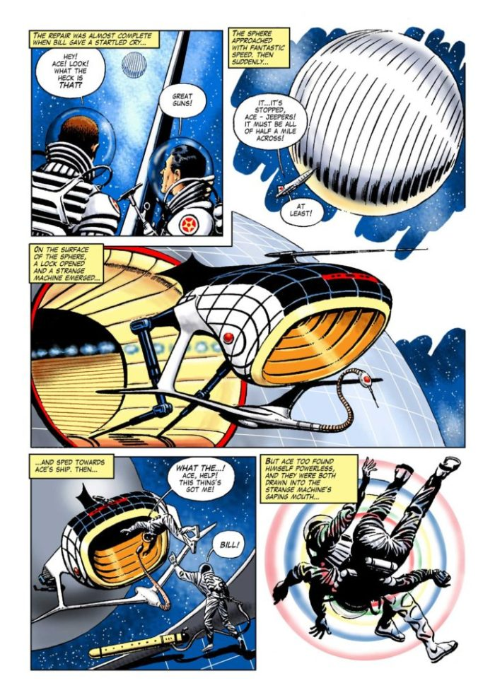 Space Ace Volume 6 - Collectors from Space Page 2