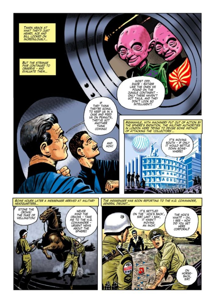 Space Ace Volume 6 - Collectors from Space Page 5