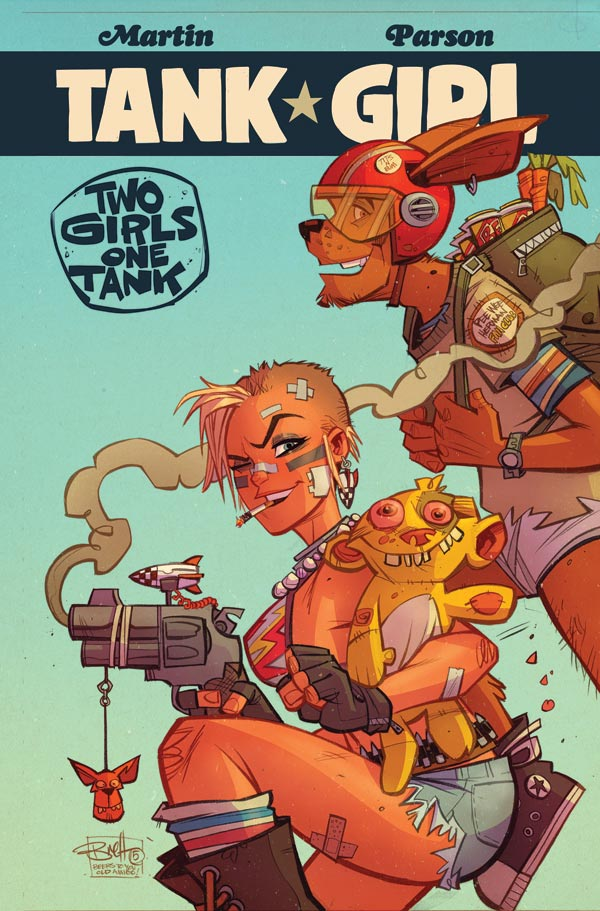 Tank Girl: 2 Girls 1 Tank 2