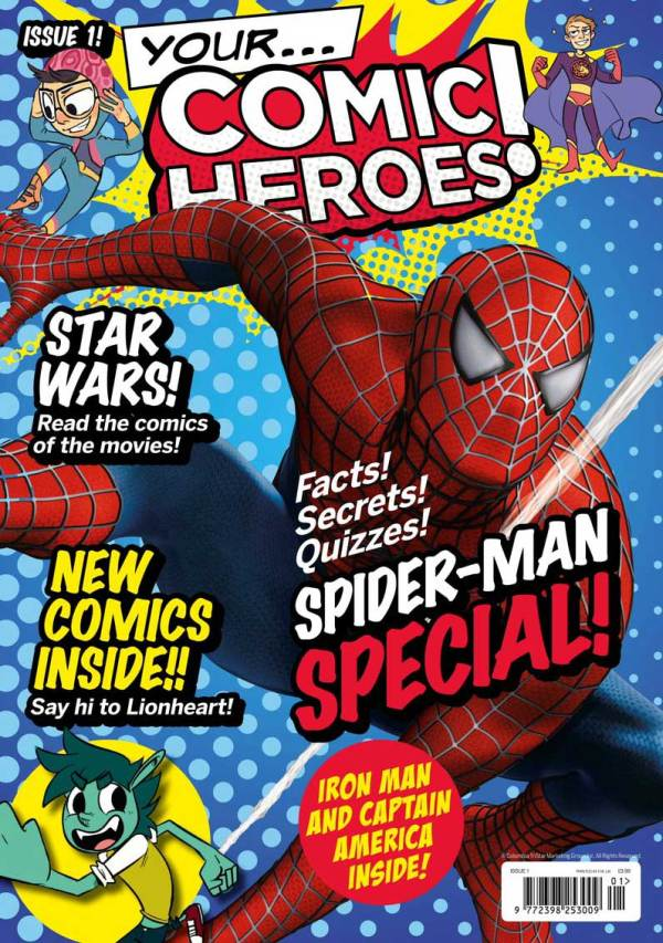 Your Comic Heroes Issue One