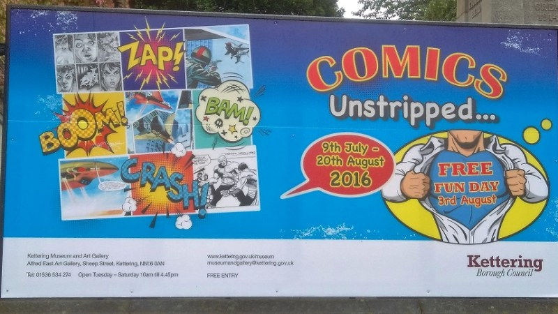 In Review: Comics Unstripped – An Exhibition of Original Comic Art