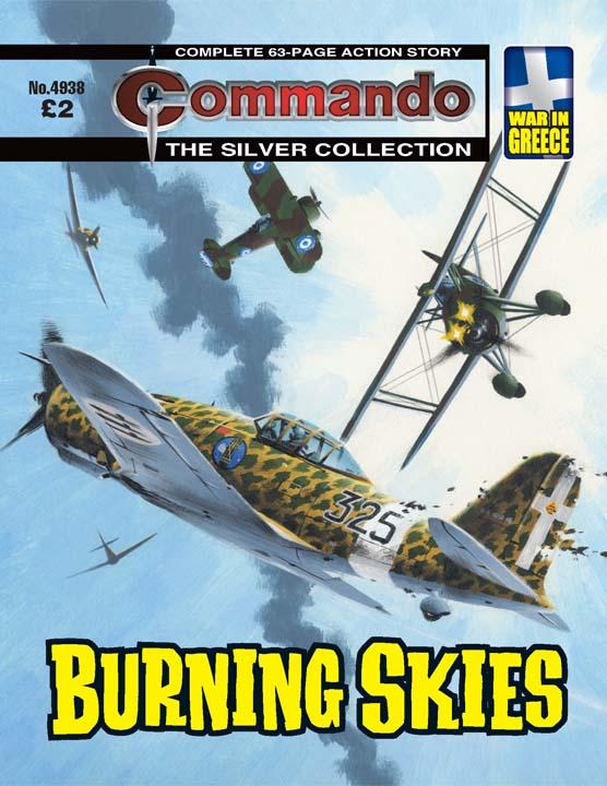Commando No 4938 – Burning Skies