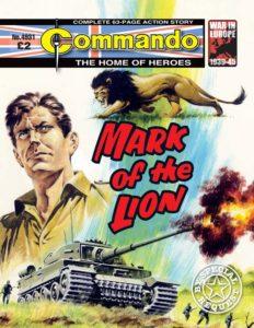 Commando No 4931 – Mark Of The Lion