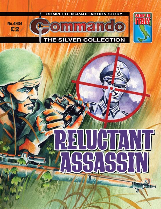 Commando No 4934 – Reluctant Assassin