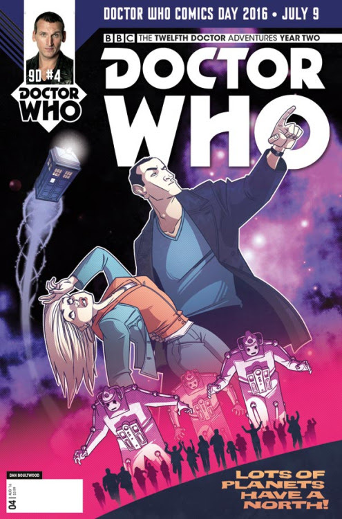 Doctor Who: Ninth Doctor #3 variant by Dan Boultwood