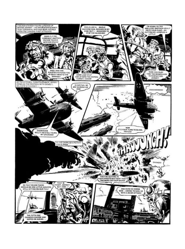 Johnny Red Volume 4: Flying Gun - Preview 2