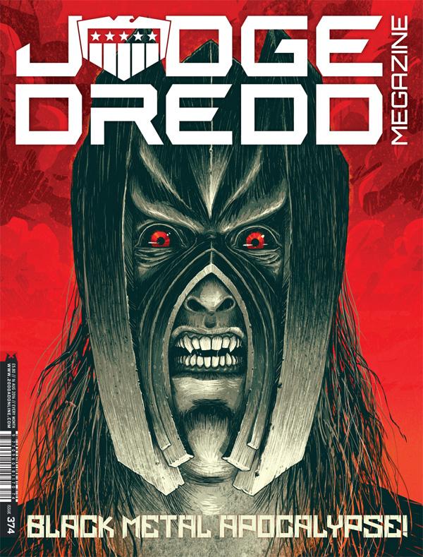 Judge Dredd Megazine 374