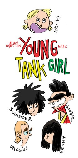 Moose Kid Comics Issue Three - Young Tank Girl