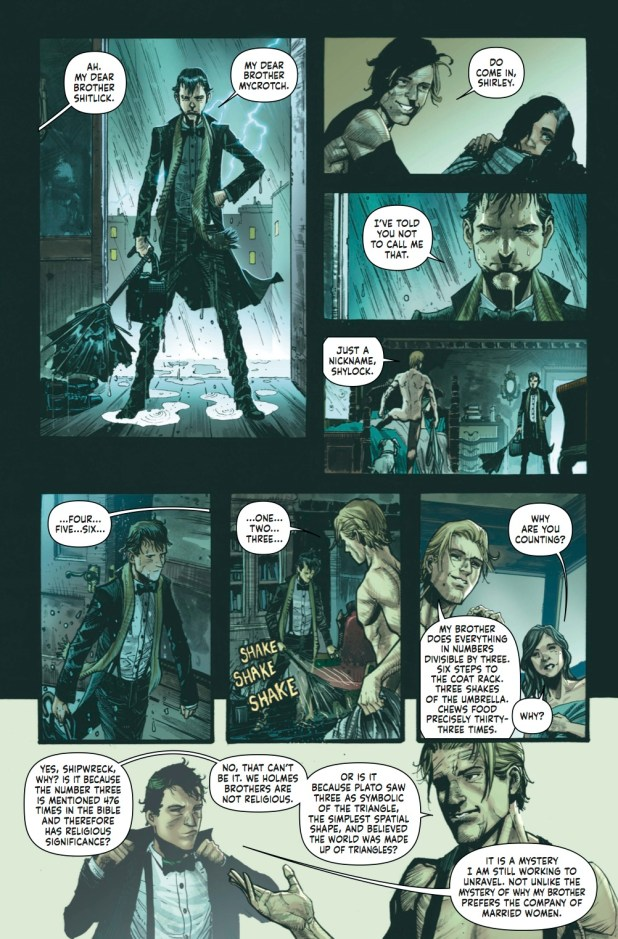 Mycroft Holmes Preview 3