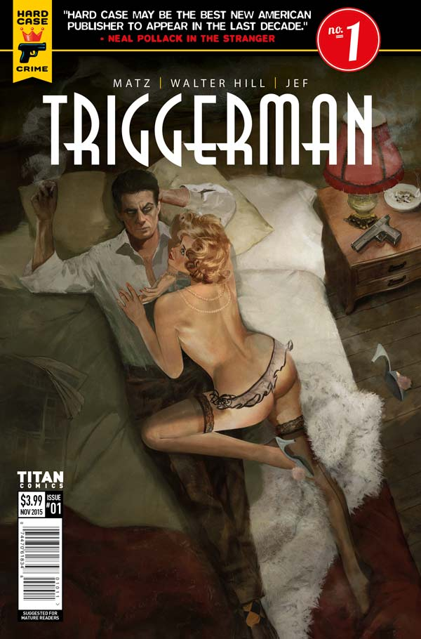 Triggerman #1 Cover C: Fay Dalton