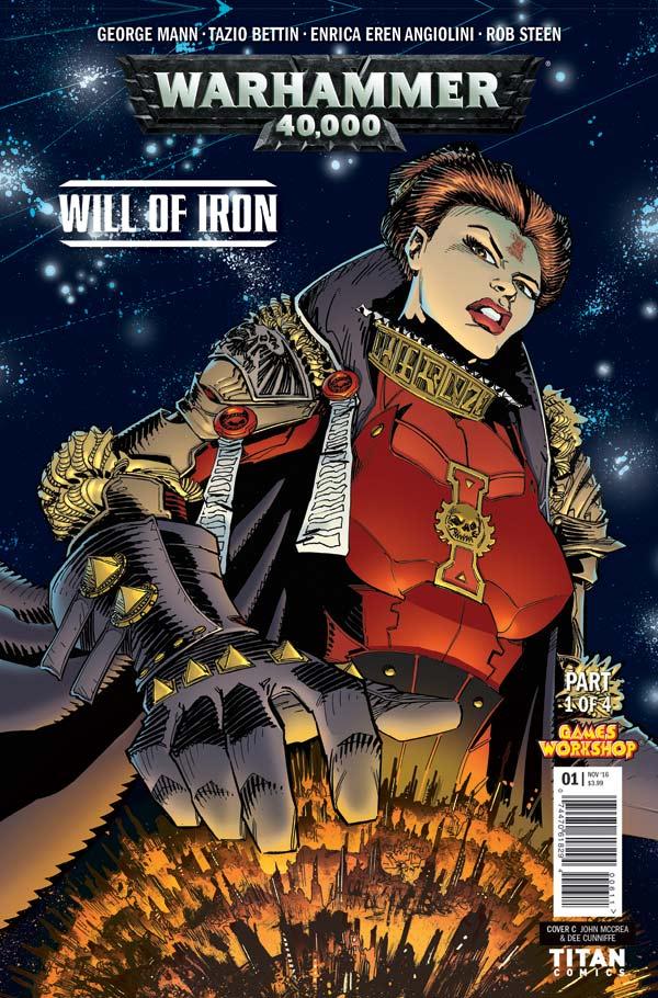 Warhammer 40K #1 Cover B by John McCrea & Dee Cunniffe