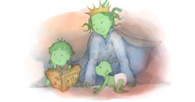 The Goblin Princess - Book Art