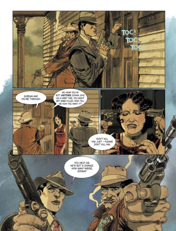 Triggerman #1 Preview 1