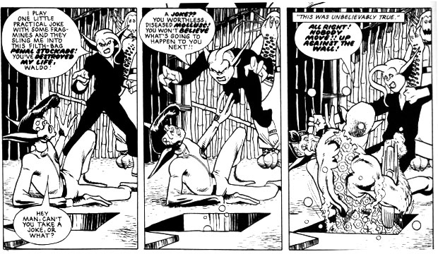 """A small taste of Alan Davis excellence from """"DR & Quinch Get Dratfter"""", from Prog 358"""